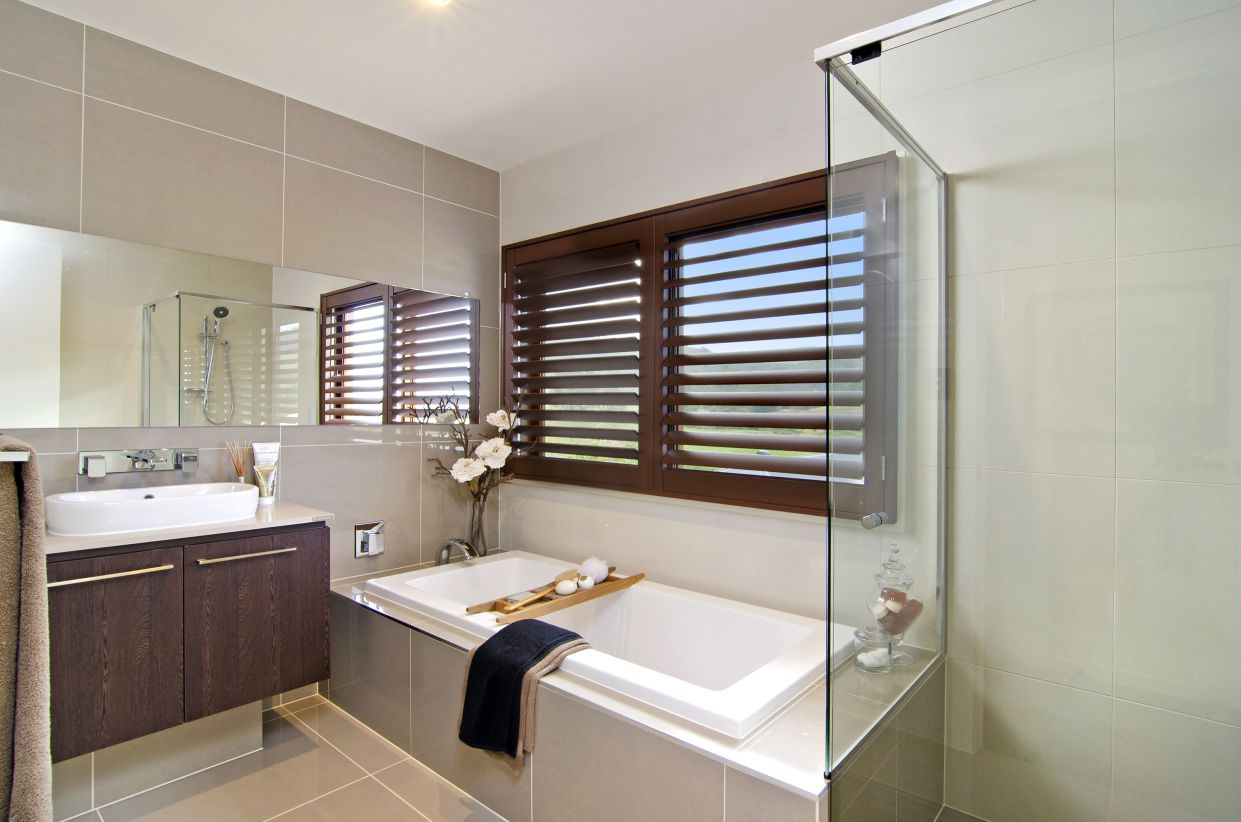 Metricon tile studio for Bathroom ideas qld
